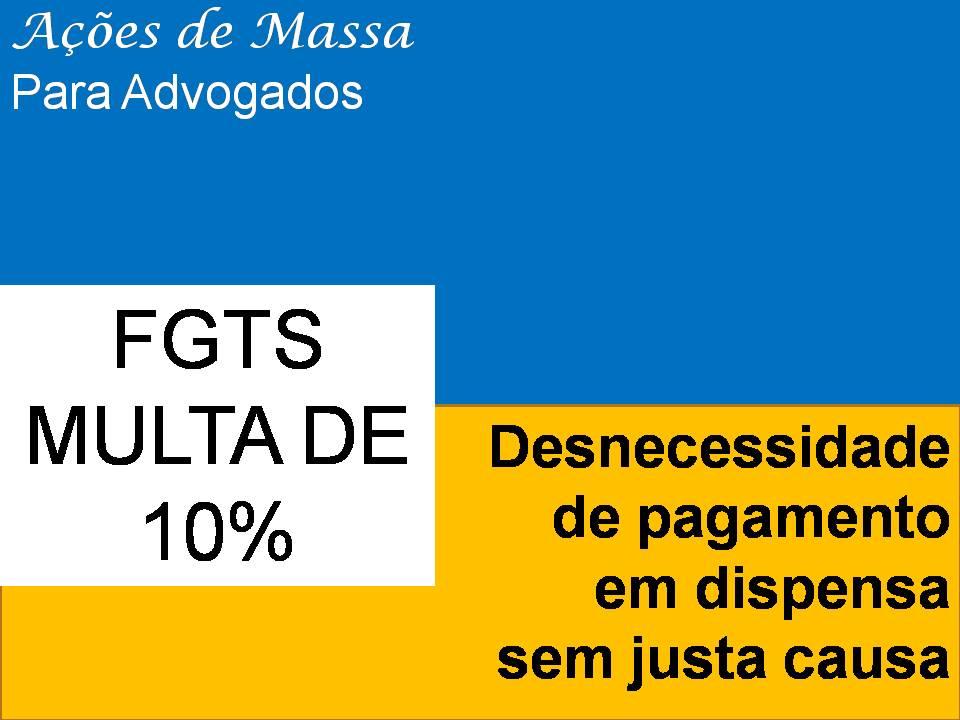 FGTS 10%: Pessoas jurídicas