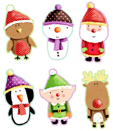 Company Labels - Company Label Advice and Information.: Cute Christmas ...