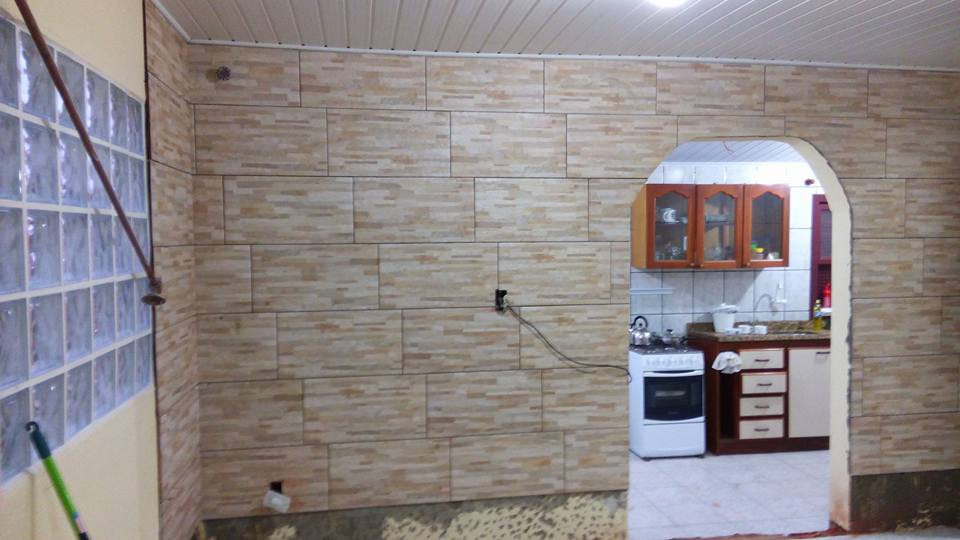 CONSTRUTORA JK Revestimento interno de paredes ~ Revestimento Interno Quarto