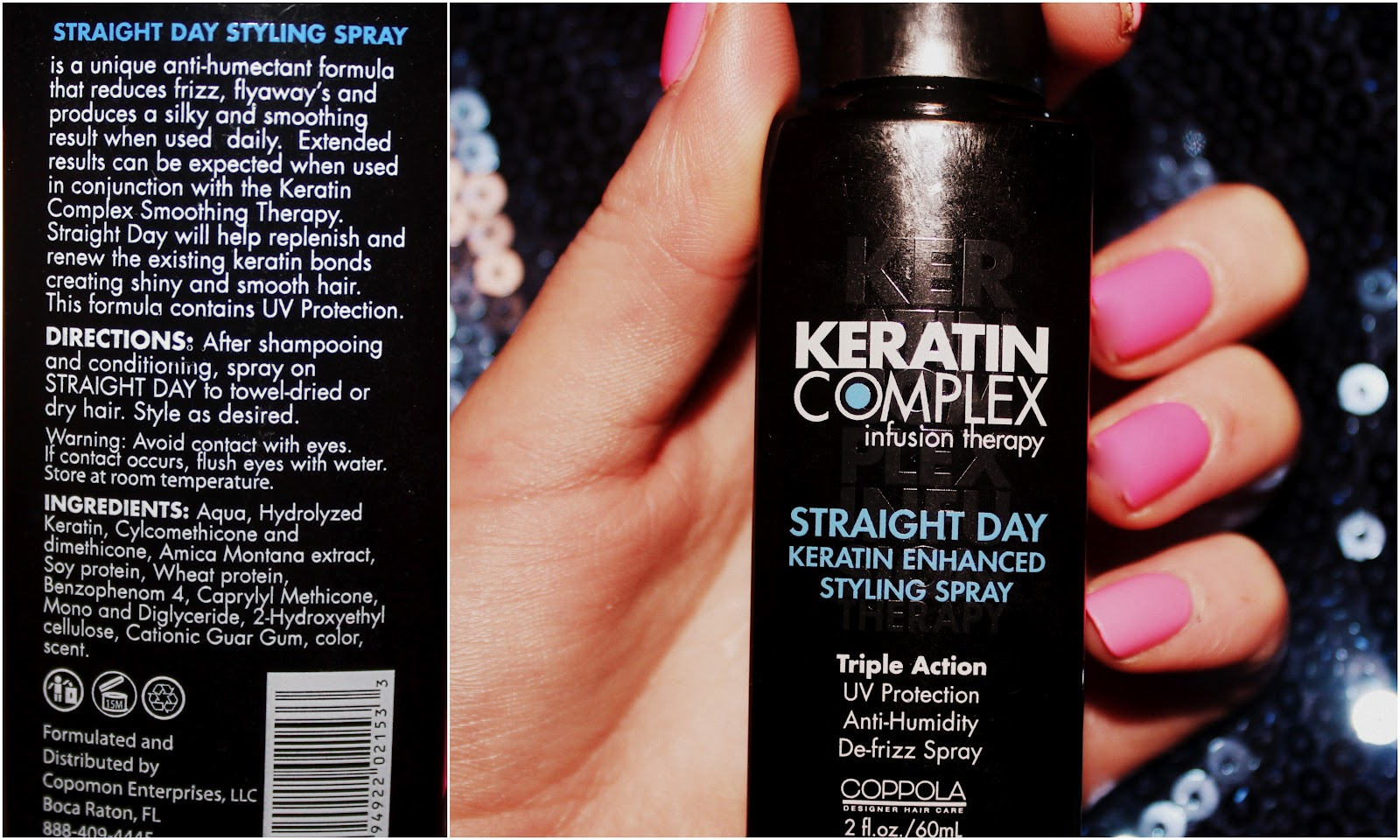 Blow Dry in a Bottle? Keratin Complex infusion therapy 'Straight Day