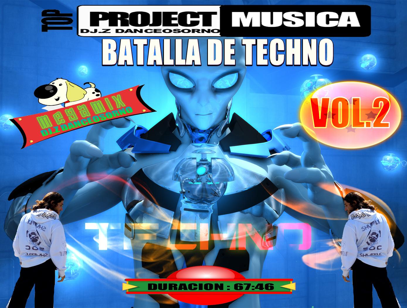 MEGAMIX BATALLA DE TECHNO VOL.2