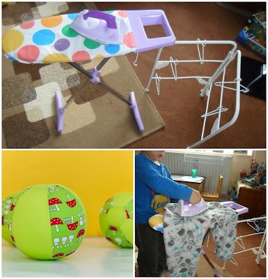 bubabloon casdon ironing play set