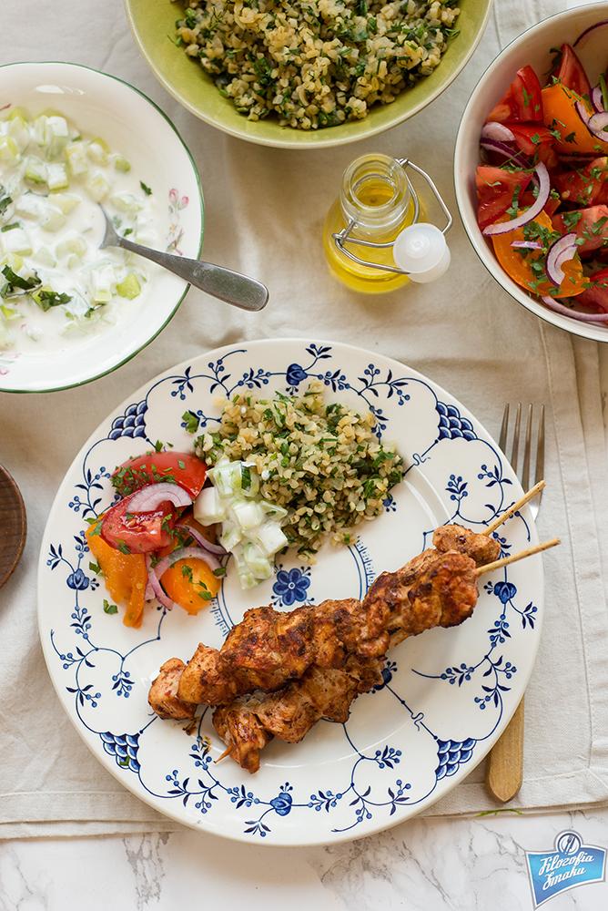 Drobiowe kebaby po turecku