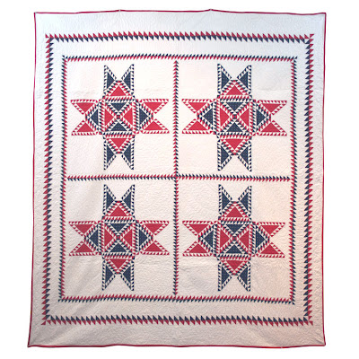 Antique 19th century pieced quilt