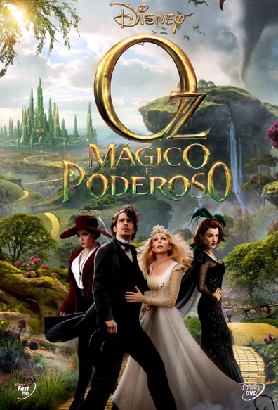 Filme Oz Mágico e Poderoso Legendado AVI BRRip