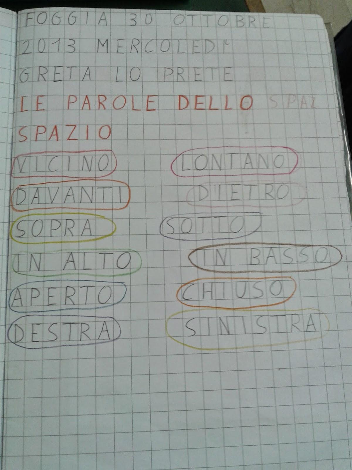 La Maestra Maria Ti Saluta Quaderno Di Geografia Classe 1 As 2013 14