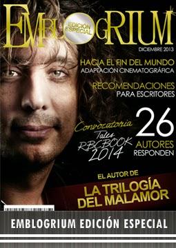 Revista edición especial EmBLOGrium: Todo sobre los escritores 2013