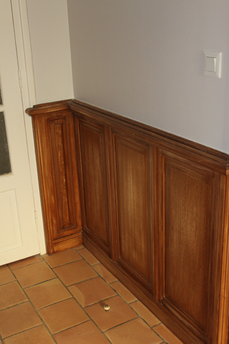 en travaux l 39 entr e adieu au orange. Black Bedroom Furniture Sets. Home Design Ideas