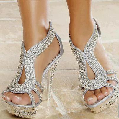 Zapatos y lentejuelas