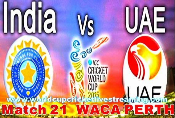 India vs United Arab Emirates