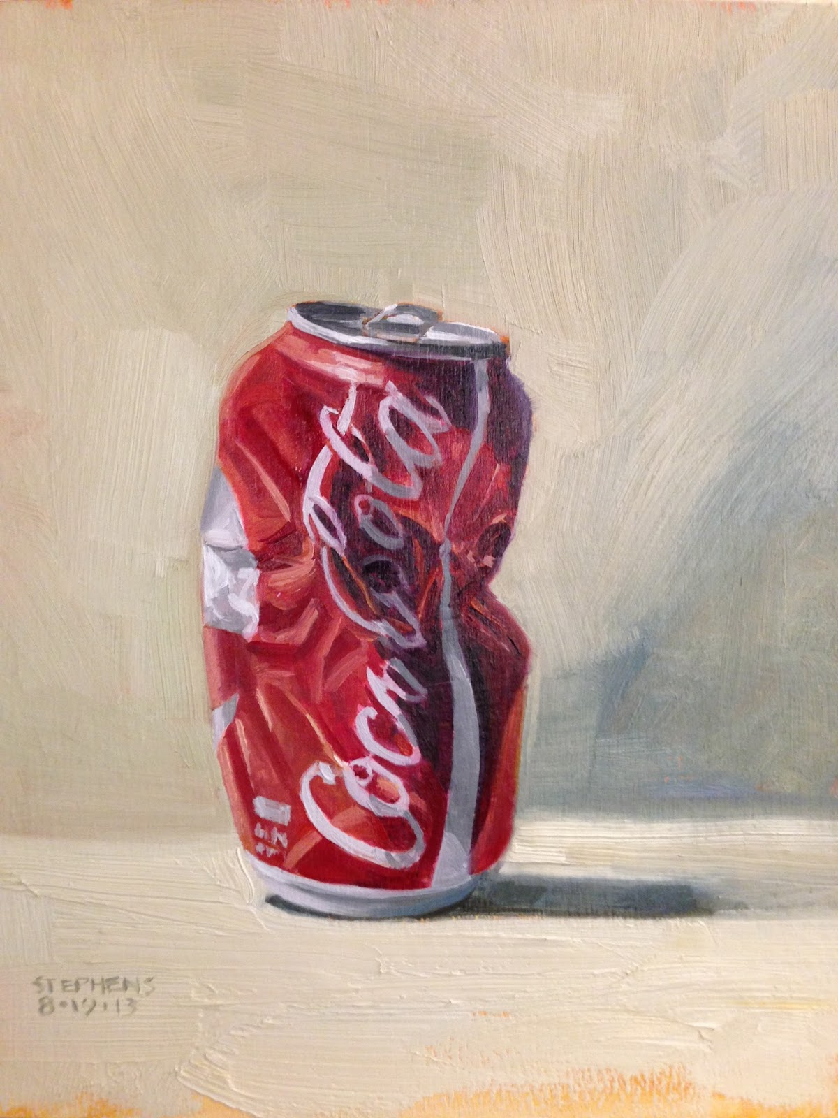 Crushed Can Paintings