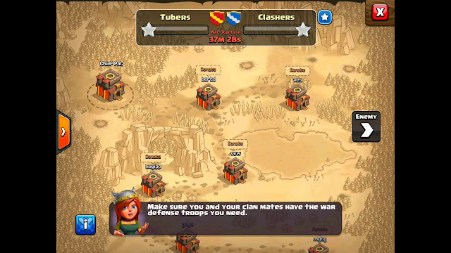 Trik Jitu Memenangkan War Game COC (Clash Of Clans)