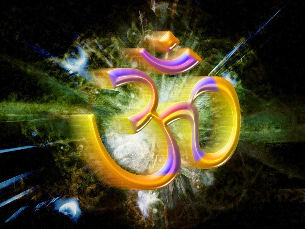 Hindu Religion Om Symbols Wallpaper Hindu God Image