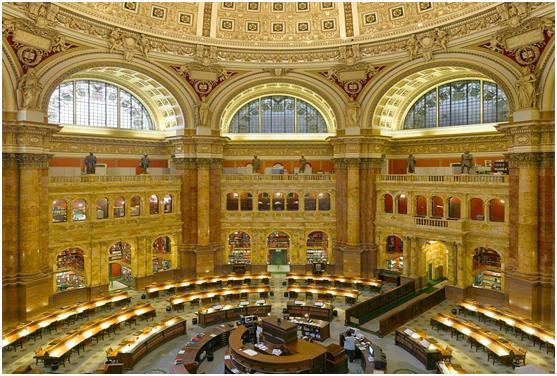 perpustakaan terbesar lybrary congres
