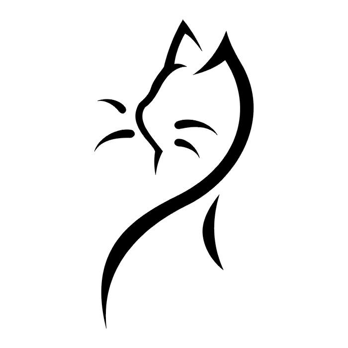 TATTOOS Cat And Dog Tattoo Stencils