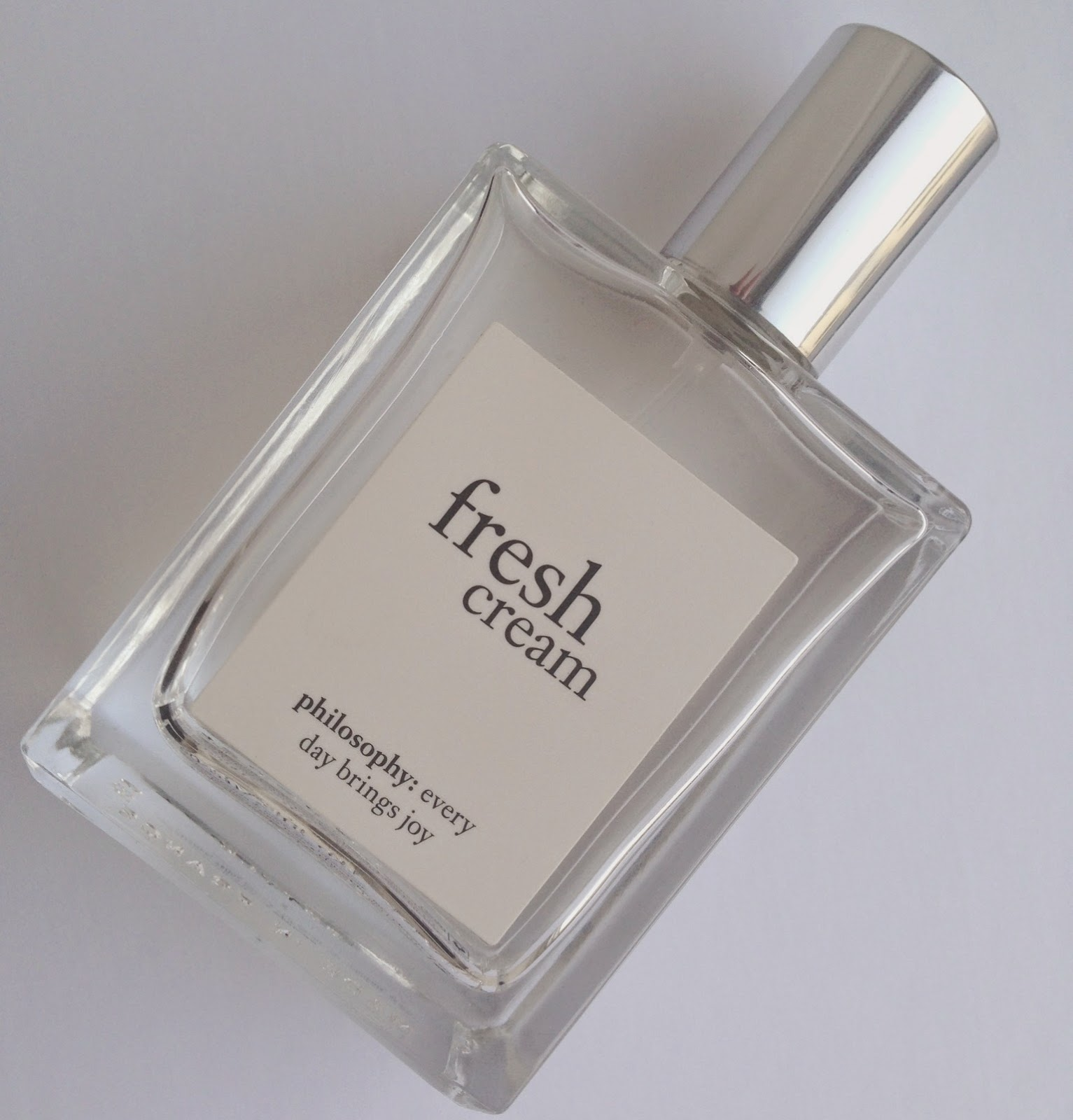 Philosophy fresh cream fragrance bottle image