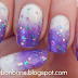 Cosmic snow storm nails
