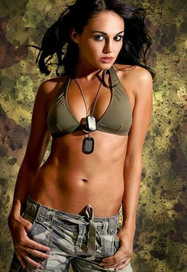 Thank Sexy girls in the military nude