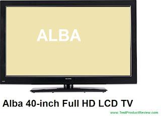 Alba 40-inch Full HD LCD TV