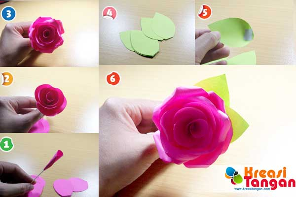 Cara Membuat Bunga Dari Kertas Dengan Mudah Lonelycircus