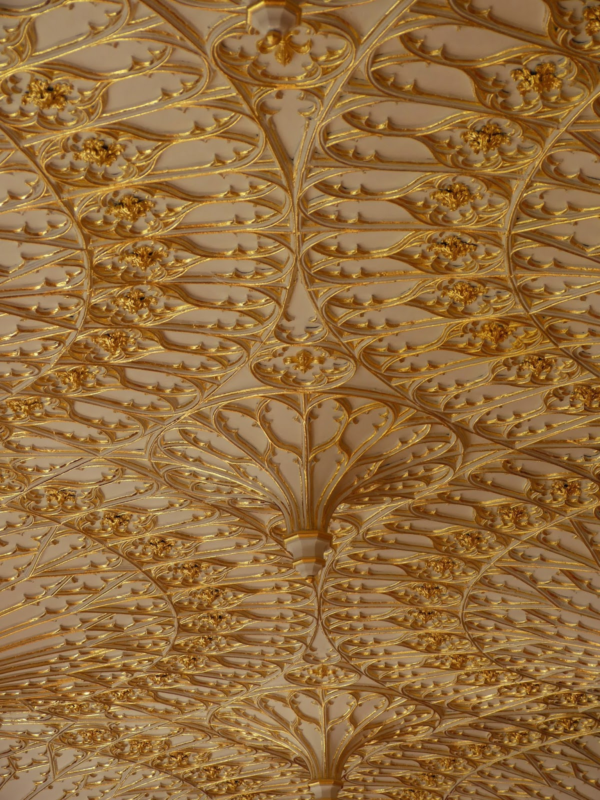 The ceiling in The Gallery, Strawberry Hill