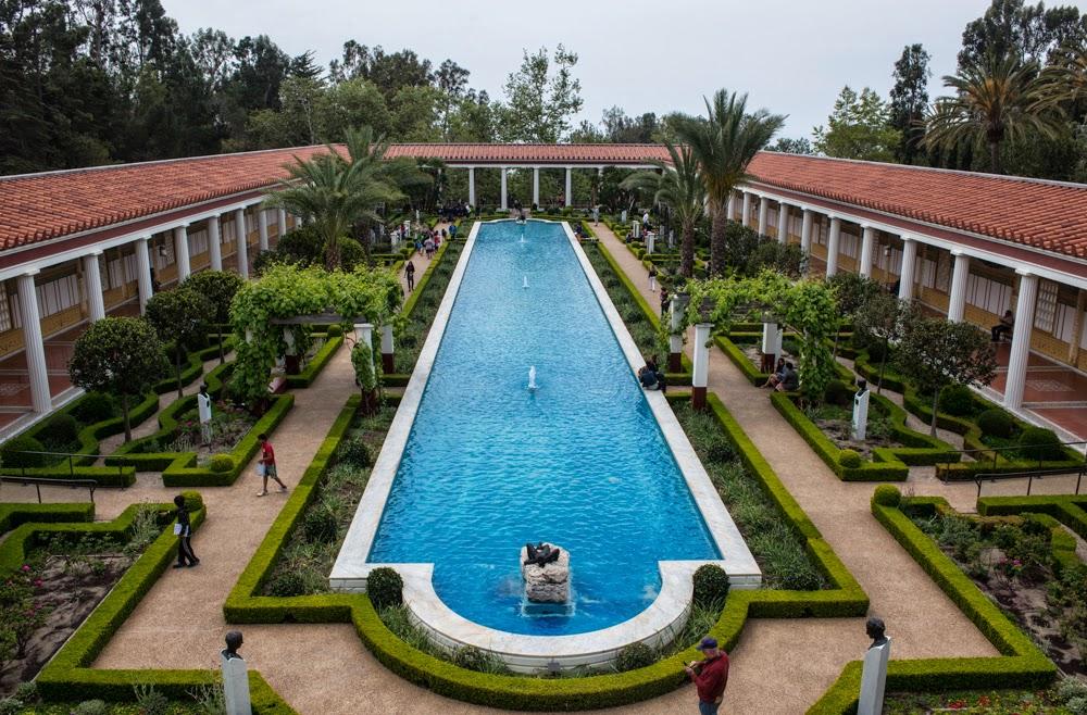 A Prima Vista The Getty Villa And Gardens