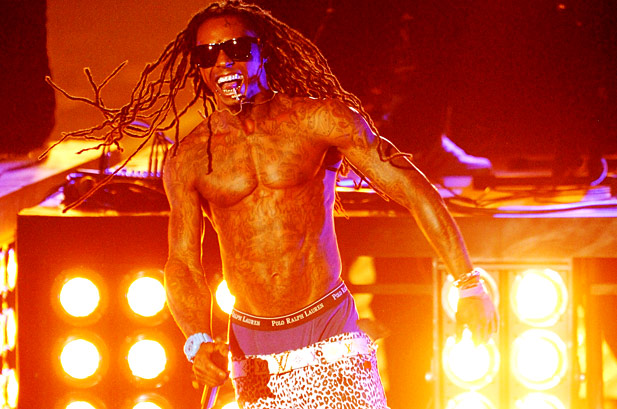 Foto do Lil Wayne no VMA