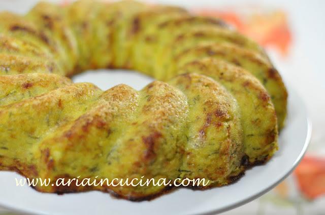Blog di cucina di aria: sformato vegetariano di zucchine patate e