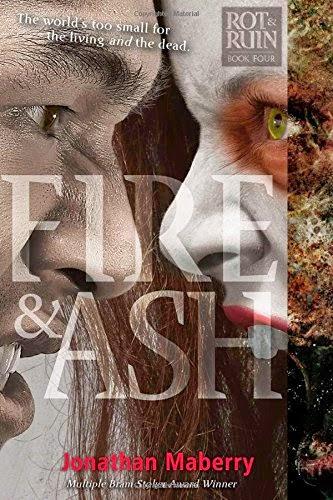 Cover americana di Fire & Ash