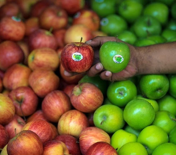 Punca epal jenis Gala dan Granny Smith disekat masuk ke negara ini