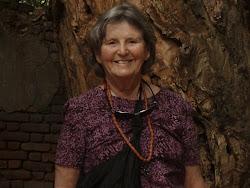 Jo in Sacred Forest  Benin