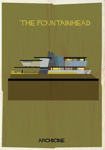{Art} Architecture in film: Archicine by Frederico Babina | Rue du chat qui peche | The fountainhead