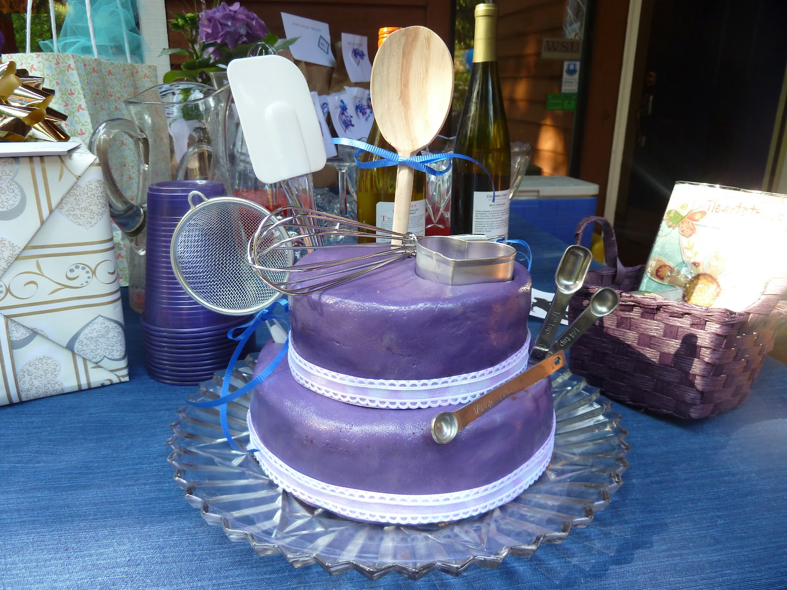 The more you know Bridal shower cake