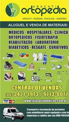 material médico, hospitalar, ortopédicos, fisioterapia, reabilitação e diabéticos em geral