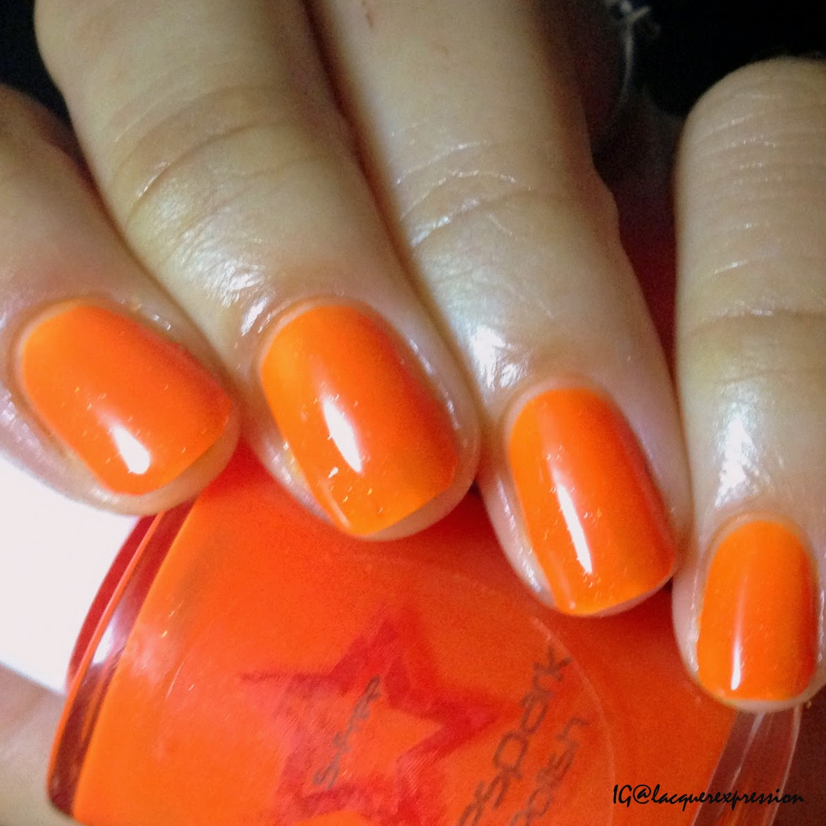 swatch and review of Rainbow Chaser nail polish by Shinespark