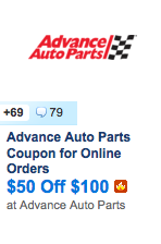 http://slickdeals.net/f/7453480-advance-auto-parts-coupon-for-online-orders-50-off-100