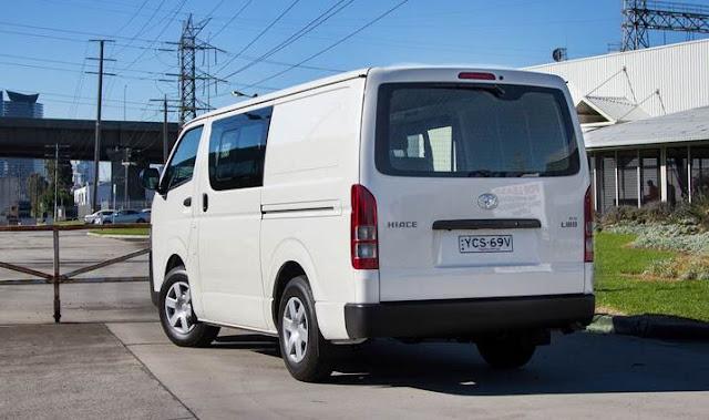 2016 Toyota Hiace Van Review