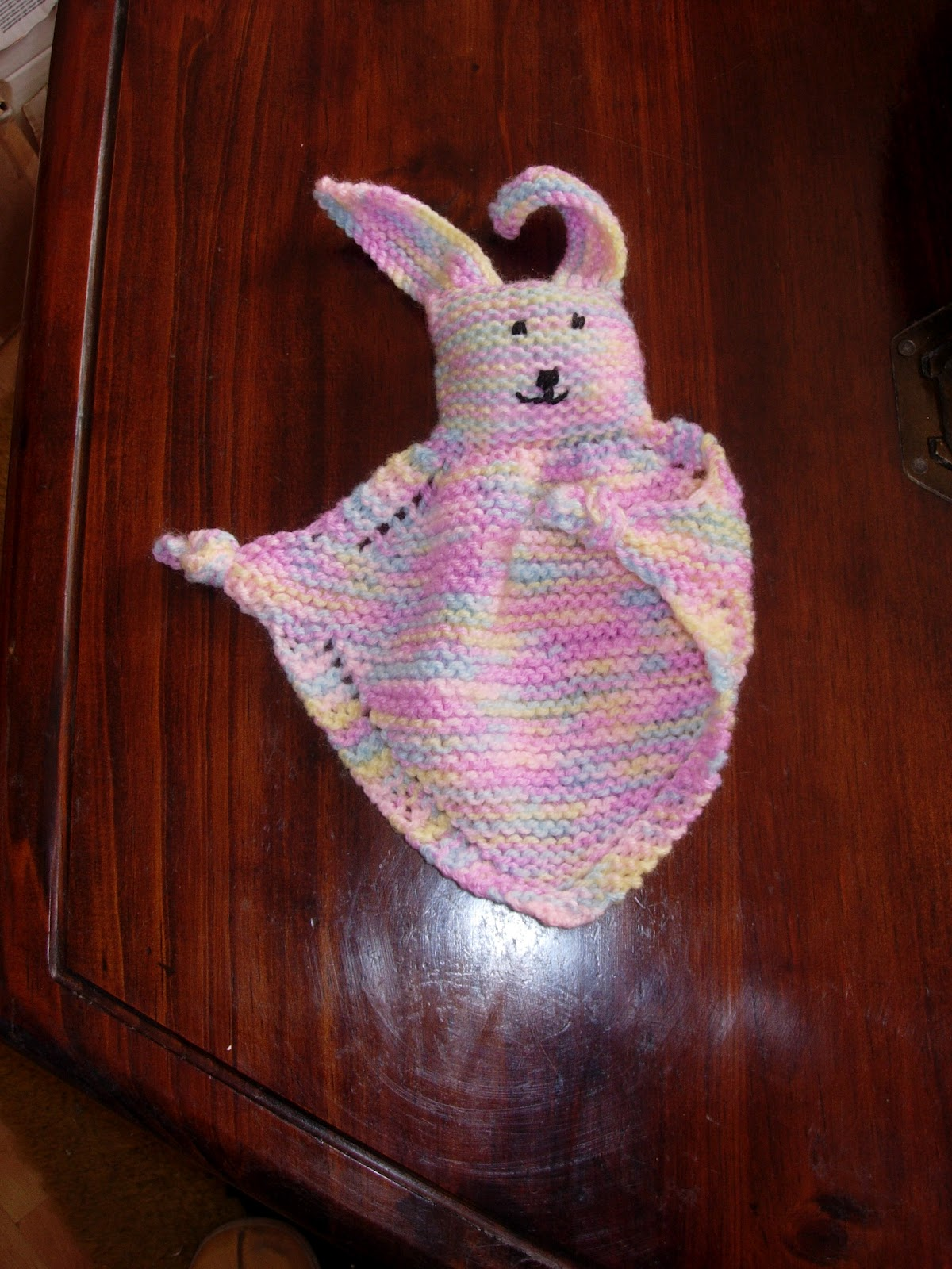 Bunny Blanket Buddy Knit Pattern : Sew many yarns: What can you make with wool?