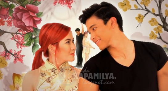 Yeng Constantino and Enchong Dee Chinito music video