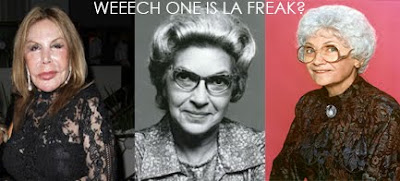 elsa patton, velia martinez, estelle getty
