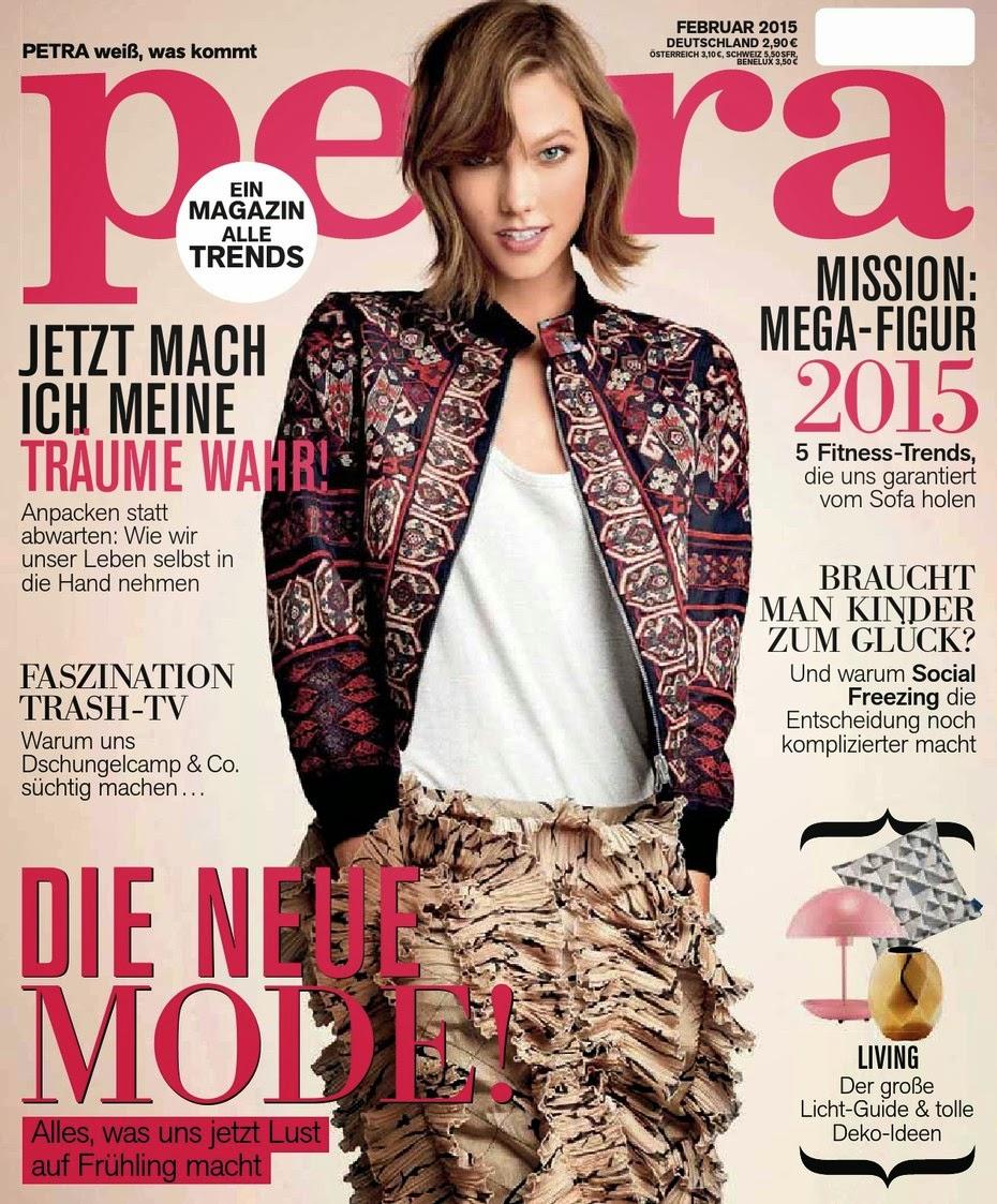 Karlie Kloss - Petra Magazine, Germany, February 2015