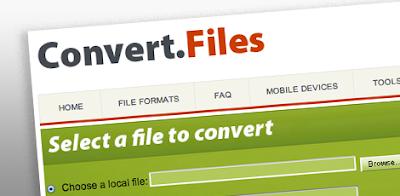 ConvertFiles: Convert any file