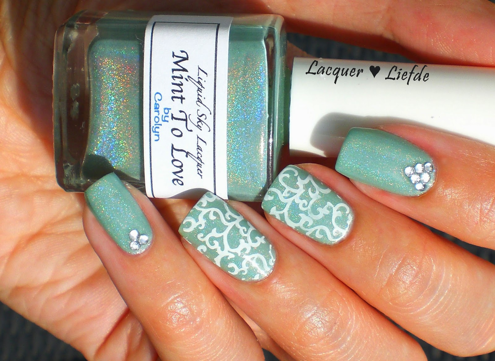 Liquid Sky Lacquer - Mint to Love