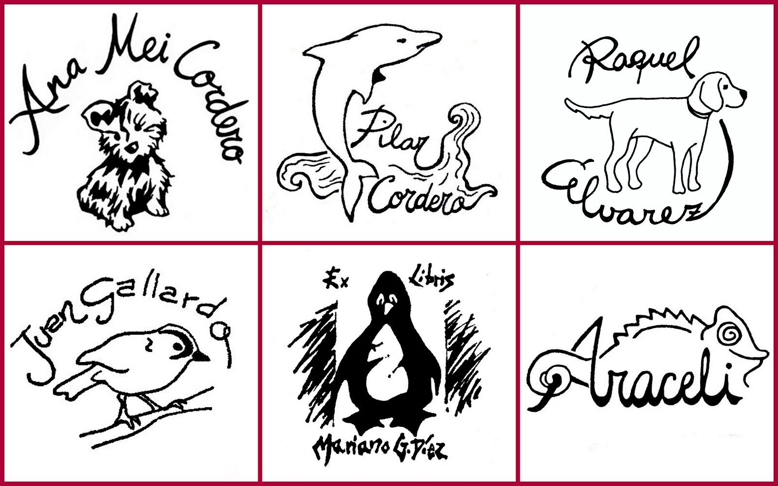 El taller de pepa agosto 2012 - Ex libris personalizados ...