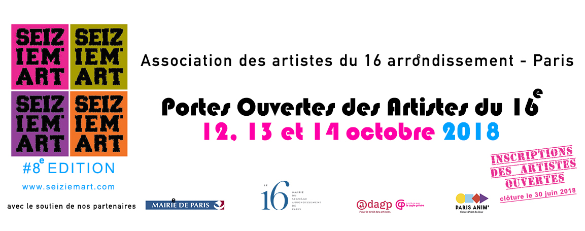 SEIZEIM'ART Association des Artistes du 16e Paris