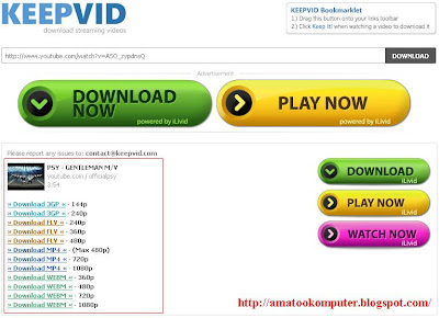 keepvid, youtube-mp3, download video youtube, convert video youtube. mp3, format, video, internet, tips kompter 3