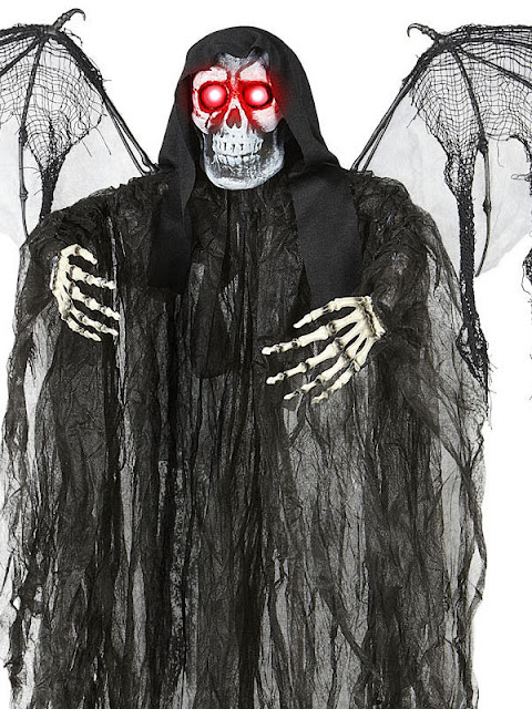Dødens engel med sorte vinger