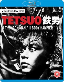 Tetsuo The Iron Man Blu-ray