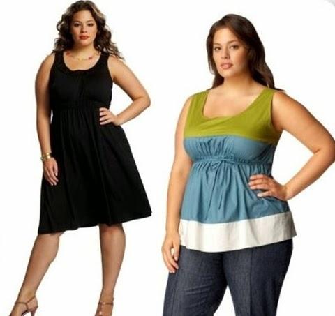 Gambar Baju Santai untuk Wanita gemuk