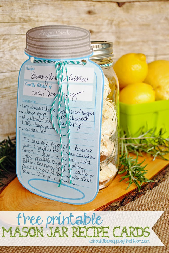 Witty image with mason jar printable